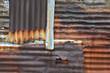 Rusty Corrugated Metal Sheets