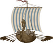 Battle Viking Ship - 79777094