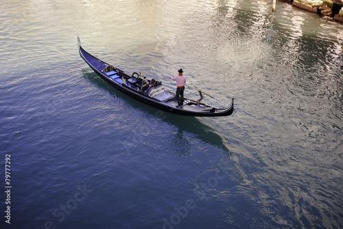 Fotobehang Gondolas Oh Venice!