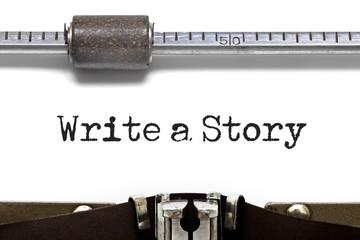 Write a Story Typewriter