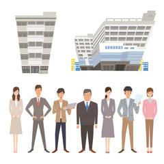 働く人々 ビジネスマン ビジネスウーマン