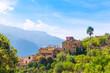 Leinwanddruck Bild - Fornalutx village in Majorca Balearic island