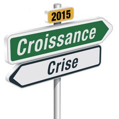 PANNEAUX CRISE - CROISSANCE 2015