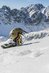Basic mountaineering equipment