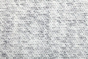 Knitted melange fabric cloth pattern