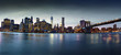 New York skyline from Brooklyn bridge