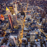 Top view of New York City - 79781802