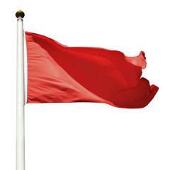 Red Flag (cliping paths)