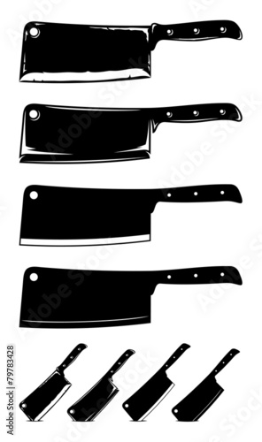 Meat Cleaver Knives - 79783428