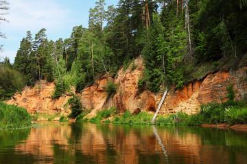Salaca river