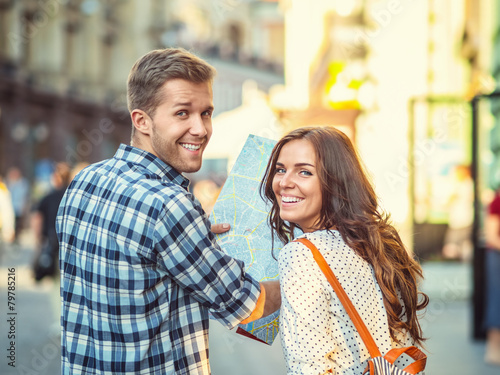 Smiling couple - 79785216