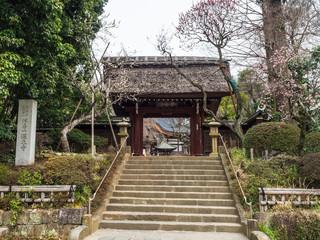東京 深大寺 山門