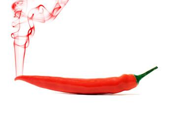 hot Chili mit Rauch