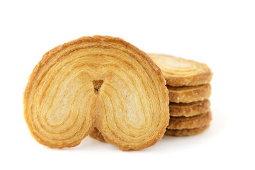 biscuits feuilletés palmier
