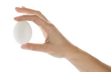 Egg in Fingers