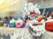 Funny snowman - 79789416