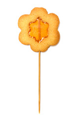 Cookies in the shape of flower