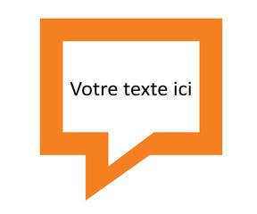 bulle de texte