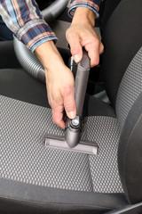 Reinigung Autositz mit Sauger, Schlauch, PKW