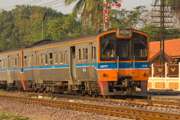 Rural Commuter Train No.403 from Phitsanulok to Sila-At
