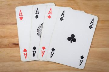 Cards Game Ace poker Black