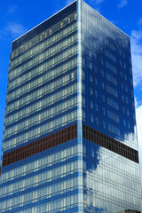 glass tower building