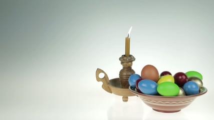 Easter still life.