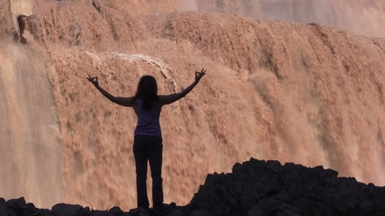 Grand Falls Arizona Yoga