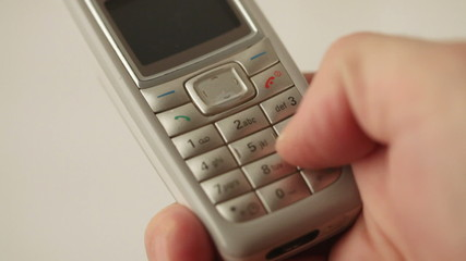 Sending sms on old mobile phone
