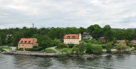 Casas litoral Suecia
