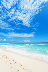Wonderful beaches of Cancun, Mexico