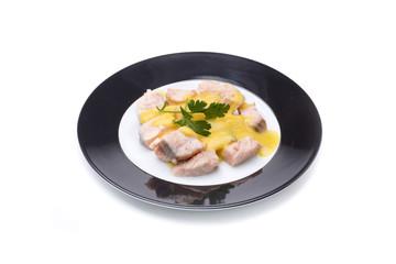 healthy fish food