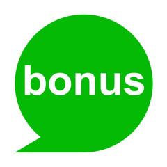 Icono texto bonus