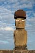 Leinwanddruck Bild - Moai (Osterinsel, Rapa Nui)