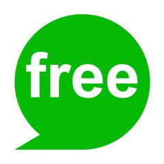 Icono texto free