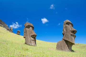 Moai (Osterinsel, Rapa Nui)
