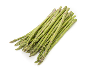 Asparagus on White