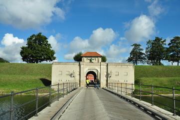 Entrada fortaleza Kastellet
