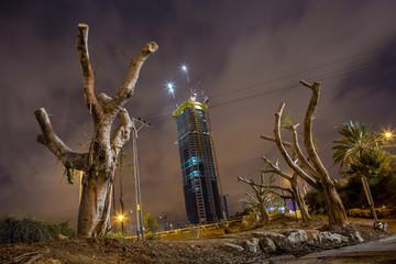 Night in Tel Aviv