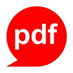 Icono texto pdf
