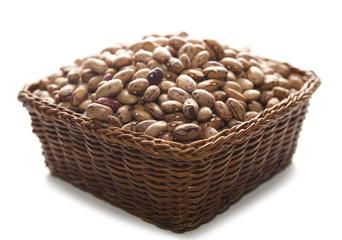 cestino di fagioli borlotti