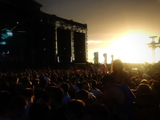 Creamfields Sunset 2013