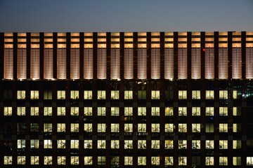Night view at Tokyo office