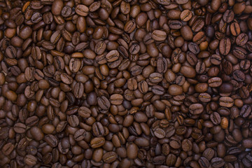 Фон из кофейных зерен