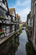 Canterbury city, canal