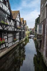 Canterbury city, canal