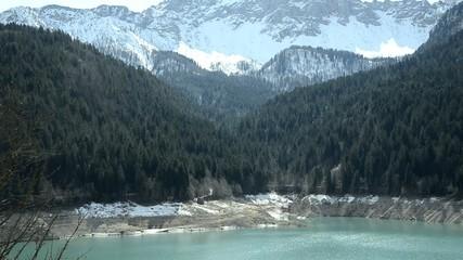 Lât di Sauris Friuli Venezia Giulia Lago artificiale