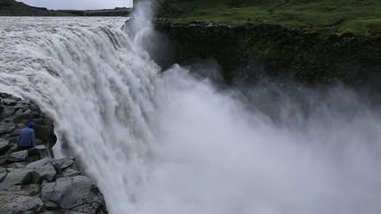 デティフォスの滝 アイスランド Dettifoss waterfall, Iceland