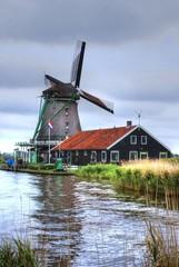 Windmill, Zaanse Schans, Holland