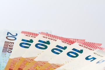 Geldfächer liegend seitlich